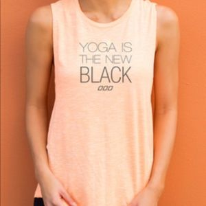Lorna Jane Yoga is the new black workout shirt